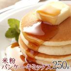 クーポン ポイント消化 米粉 パンケーキミックス 香り極上米粉 250g(10〜11枚分 1枚50g)送料無料