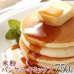 クーポン ポイント消化 米粉 パンケーキミックス 香り極上米粉 750g(30〜33枚分) 1枚50g 送料無料