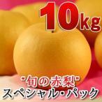鳥取県産 旬の赤梨セット 赤秀 10kg詰(16玉前後入) 送料無料(北海道・沖縄を除く)