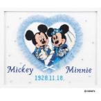 Olympusクロスステッチ刺繍キット 7197「スウィートハート」 ミッキーマウスとミニーマウスのウェルカムボード ウェディング ディズニー
