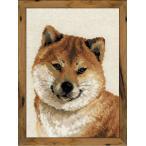 RIOLISクロスステッチ刺繍キット No.1280 「Japanese Husky」 【海外取り寄せ.納期30〜60日】  (ジャパニーズ・ハスキー 柴犬 日本犬)