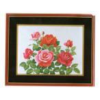 東京文化刺繍キット No.70  「ピンク・ローズ」 【3号】 【花・植物】 バラ 薔薇 ばら