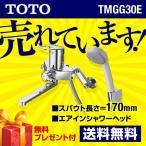 TMGG30E TOTO 浴室シャワー水栓 GGシリーズ エアインシャワー スパウト長さ170mm 混合水栓 蛇口 壁付タイプ
