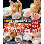 送料無料 手羽先餃子 選べるお試しセット(5本×5P)焼き鳥屋の手羽先お惣菜!バーベキュー、BBQに最適手羽餃子 焼くだけ