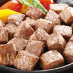 牛サイコロステーキ(成型肉) 1kg バーベキュー BBQに最適