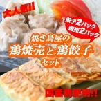 焼き鳥屋の鶏焼売と鶏餃子セット 餃子2パック、焼売2パック 焼売 シュウマイ しゅうまい 餃子 ぎょうざ ギョーザ