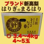 高知県特産 ブランド新高梨 にいたかなし 針木 はりぎ まるはり ◎ 4〜5玉 3.4〜4kg