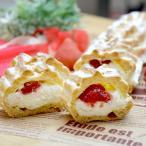 冷凍食品 冷凍ケーキ フレック)フリーカットケーキシュークリーム(イチゴ) 335g