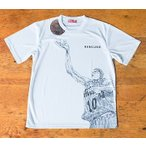 スラムダンク Tシャツ 『桜木 REBOUND 』 DTS01〈ホワイト色〉