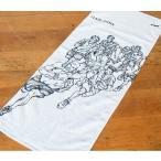 スラムダンク フェイスタオル【86cm×34cm】 DTWL-02〈ホワイト色〉