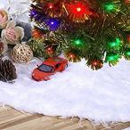 クリスマスツリースカート クリスマス飾り ツリースカート ホワイト クリスマスパーティー オーナメント 雰囲気 (白色)