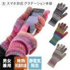 手套 - 手袋 スマホ対応 グラデーション