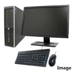 ショッピング中古 中古パソコン デスクトップ Windows 10/新品HDD1TB/無線あり/19型液晶セット付/HP Compaq 8100 Elite SFF Core i5 3.2GHz/メモリ4G/新品1TB/DVDドライブ 1111