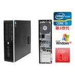 中古パソコン 中古デスクトップパソコン(Windows XP Pro) HP XW4600 Core2Duo E8400 3G/2G/250GB/DVD-ROM/ATI FireMV 2250 256MB(EC) (DP7407-503)