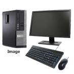 Windows 10 SSD120G 23インチ薄型液晶 DELL Optiplex 790 SFF 爆速Core i5 2400 3.1G/メモリ4G/新品SSD120GB/DVD/無線/Office2013/中古パソコン
