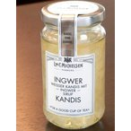 【ジンジャー  キャンディス】ショウガがピリッと効いてます 体も温まる (ショウガシロップ漬け白色氷砂糖)ミヒャエルセン ドイツ