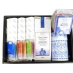 ギフト取り合わせ 【選択可】ロンネフェルト100g紅茶+ 保存缶【色選択可】+ジョイ オブ ティー12種+ティーベロップ12種  紅茶 ギフト