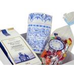フルーツキャンディー可愛いギフトセット ロンネフェルト紅茶も選べます 100g茶葉選択可&素敵な保存缶【色選択可】&フルーツキャンディー