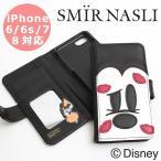 ショッピングミニー サミールナスリ iPhoneケース 送料無料 限定 SMIR NASLI iPhone6/6s/7/8対応 Mickey Kiss Face Mobile Case ミッキー ミニー モバイル スマホケース 011232376