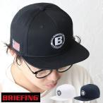 ブリーフィング ゴルフ キャップ BRIEFING GOLF MENS FLATVISOR CAP メンズフラットバイザーキャップ 帽子 日本正規品 BRG191M33