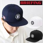 ブリーフィング ゴルフ キャップ BRIEFING GOLF MENS FLATVISOR CAP メンズフラットバイザーキャップ 帽子 BRG201M46