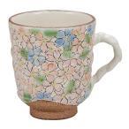 九谷焼 器 カップ  マグカップ・花詰 引き出物 結婚祝 記念品 退職祝 新築祝