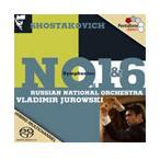 Jurowski, Wladimir/Russian National Orchestra SHOSTAKOVICH:SYMPHONIES NO.1 OP.10/NO.6 OP.54: :WLADIMIR JUROWSKI SACD Hybrid