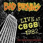 Bad Brains Live CBGB 1982 CD