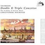 Hogwood, Christopher/Academy of Ancient Music Telemann: Double & Triple Concertos -Concerto for 3 Trumpets, Qua CD