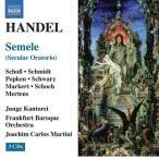 Frankfurt Junge Kantorei Handel: Semele (Oratorio) / Elisabeth Scholl(S), Julla Schmidt(S), Ralf Popken(C-T), J CD