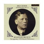 ハンス・クナッパーツブッシュ Bruckner: Symphony No.9 (2/1/1958); Wagner: Gotterdammerung -Orchestral Works (6/1 CD