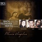 """ムジカ・アンジェリカ J.S.Bach: Toccata BWV.914; Telemann: Cantata """"""""Endlich wird die Stunde Schlagen""""""""; Hertel: CD"""