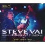 Steve Vai Where The Other Wild Things Are : Deluxe Collection Edition [2DVD+CD] DVD