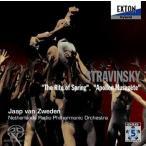 ヤープ・ヴァン・ズヴェーデン ストラヴィンスキー: バレエ音楽「春の祭典」, 「ミューズの神を率いるアポロ」 SACD
