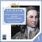 �ܥ֡��ե��󡦥����ڥ�� J.S.Bach: The Well-Tempered Clavier, Toccatas, Goldberg Variations������ס� CD