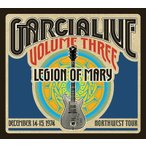 Jerry Garcia Band Jerry Garcia Band & Legion of MaryGarcia Live Vol.3: Dec 14-15 1974 NW Tour CD