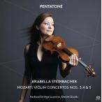 アラベラ・美歩・シュタインバッハー モーツァルト: ヴァイオリン協奏曲第3番〜第5番 SACD Hybrid
