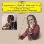 サルヴァトーレ・アッカルド パガニーニ:ヴァイオリン協奏曲第3番・第4番 CD