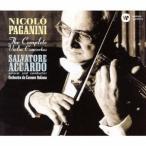 サルヴァトーレ・アッカルド パガニーニ:ヴァイオリン協奏曲全集 CD