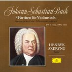 ヘンリク・シェリング J.S.バッハ: 無伴奏ヴァイオリンのためのパルティータ全曲 CD