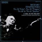 カール・シューリヒト モーツァルト:交響曲第36番≪リンツ≫≪プラハ≫・第40番≪ジュピター≫ CD