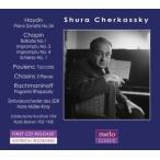 シューラ・チェルカスキー Shura Cherkassky plays Haydn, Chopin, Poulenc, Chasins & Rachmaninov CD