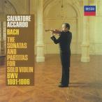 サルヴァトーレ・アッカルド J.S.バッハ: 無伴奏ヴァイオリンのためのソナタ&パルティータ 全曲
