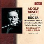 ���ɥ�ա��֥å��� Adolf Busch Performs Reger CD