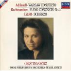クリスティーナ・オルティス アディンセル: ワルソー・コンチェルト; ラフマニノフ: ピアノ協奏曲第2番, 他