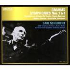 カール・シューリヒト ブラームス: 交響曲第3番, 第4番, 他 SACD Hybrid