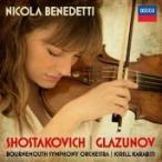 ニコラ・ベネデッティ Shostakovich, Glazunov - Violin Concertos CD