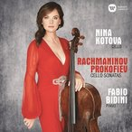 ニーナ・コトワ Rachmaninov, Prokofiev - Cello Sonatas CD