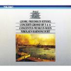 ニコラウス・アーノンクール ヘンデル:合奏協奏曲作品3&6(全曲) CD