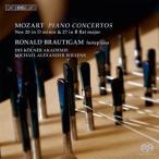 ロナルド・ブラウティハム モーツァルト: ピアノ協奏曲集第5集 - 第20番, 第27番 SACD Hybrid